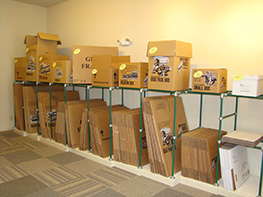 Moving Boxes Available American Self Storage Communities Greenwood Facility.