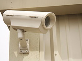Security Cameras at American Self Storage Communities Fairview Facility