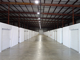 American Self Storage temperature controlled units.